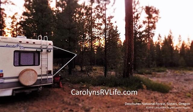 Deschutes National Forest Boondocking