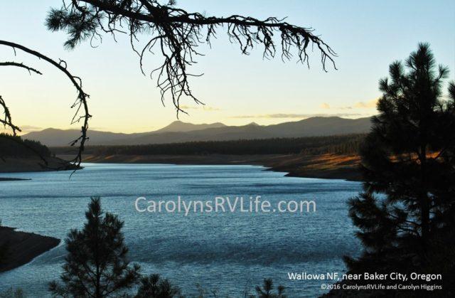 Wallowa NF outside Baker City, Oregon