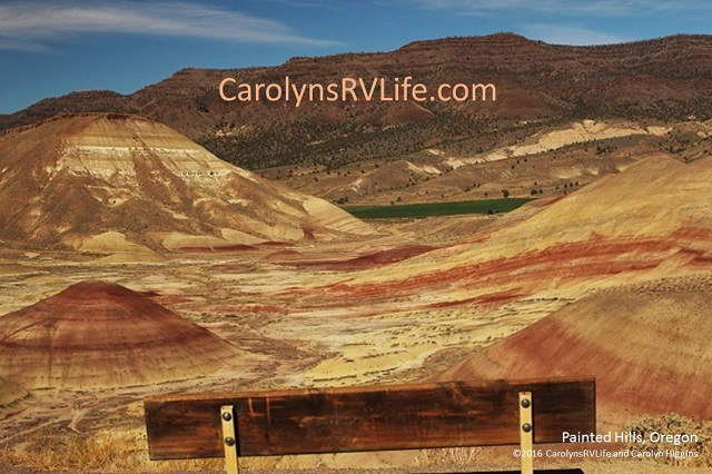 Painted Hills Near Mitchell, Oregon
