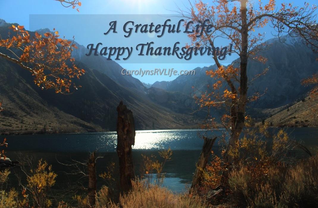 RV Life Thanksgiving scene