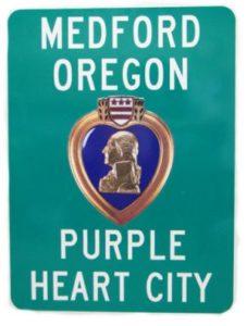 RV travels purple heart city