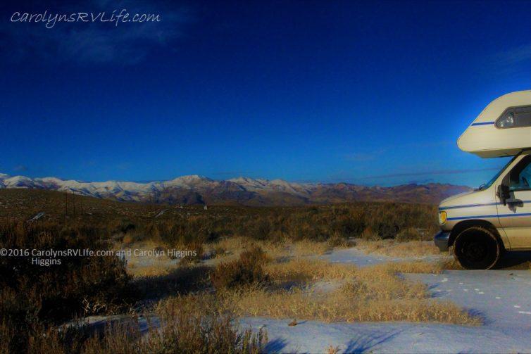 RV Living Boondocking Winnemucca Nevada