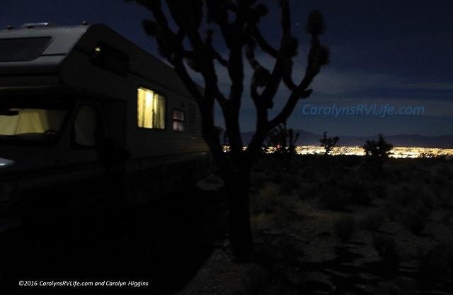 Boondocking in Pahrump,Nevada